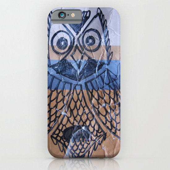 orange owl iPhone & iPod Case