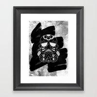 Storm Trooper #2 Framed Art Print