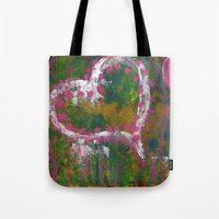 two hearts Tote Bag
