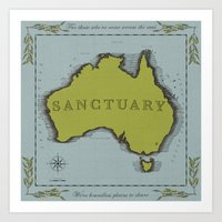 Sanctuary Art Print
