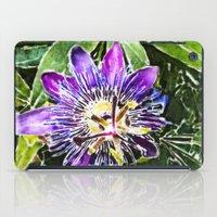 Passion fruit flower. iPad Case