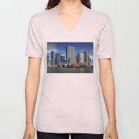 NYC Skyline  Unisex V-Neck