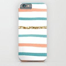 Sparkle Stripe iPhone 6 Slim Case
