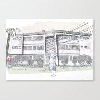 Cada casa necesita una Maria Canvas Print