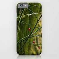 iPhone & iPod Case featuring Red in the Forest by Alyssa