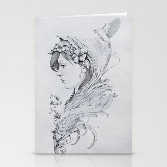 Hooded Stationery Card