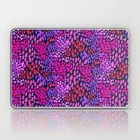 Purple dots Laptop & iPad Skin