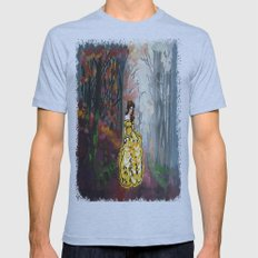 Belle In The Enchanted F… Mens Fitted Tee Athletic Blue SMALL