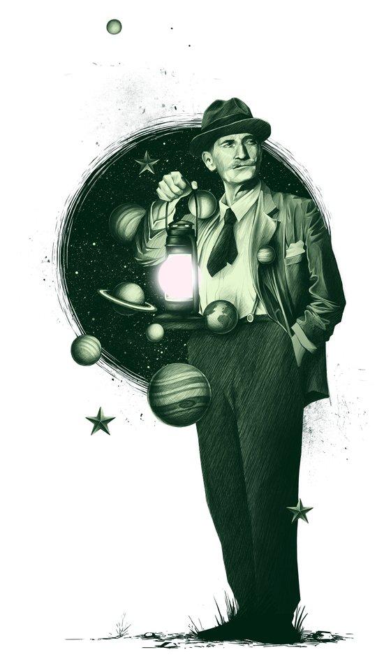 Losing Pluto Art Print