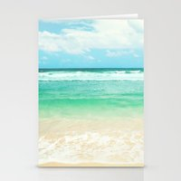 endless sea Stationery Cards