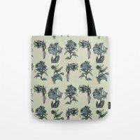 Botanical Florals   Vint… Tote Bag