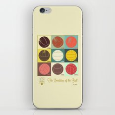 The Evolution of the Ball iPhone & iPod Skin
