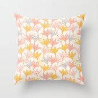 Lily I Throw Pillow