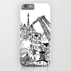 Three City Silhouettes Slim Case iPhone 6s