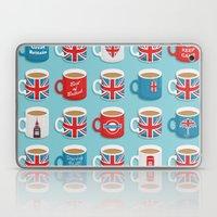 A Very British Brew Laptop & iPad Skin