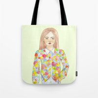 The colourful shirt Tote Bag
