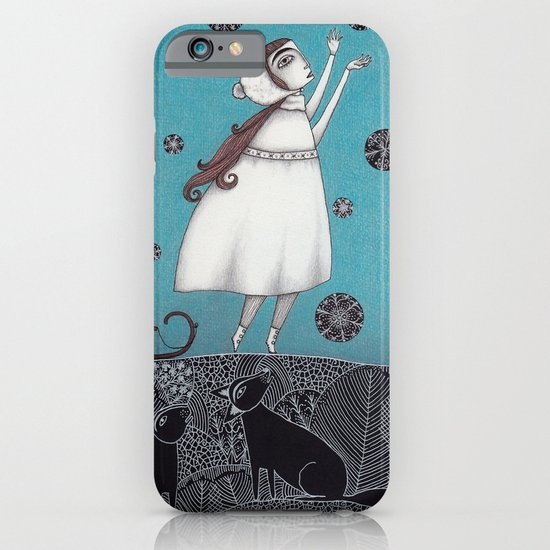 Between the Woods and Frozen Lake iPhone & iPod Case