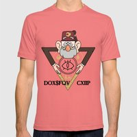 Great Symbol of Stan Mens Fitted Tee Pomegranate SMALL