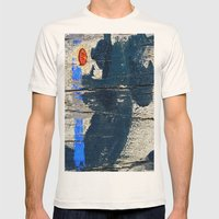 Blackbird Mens Fitted Tee Natural SMALL