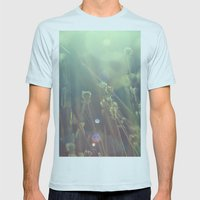 grass dreams Mens Fitted Tee Light Blue SMALL
