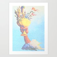 Monty Python & The Holy … Art Print