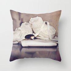 Silver Spoon  Throw Pillow