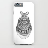 iPhone & iPod Case featuring The Mouse- Feathered by Jess Polanshek