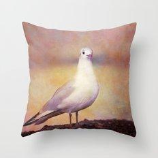 SONG OF A BIRD Throw Pillow