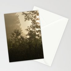 Being a Part of a Foggy Morning Stationery Cards