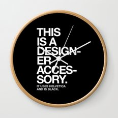 THIS IS A DESIGNER... Wall Clock