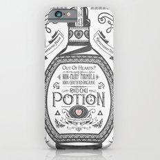 Legend of Zelda Red Potion Vintage Hyrule Line Work Letterpress iPhone 6 Slim Case