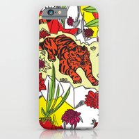 Tiger On The Prowl iPhone 6 Slim Case