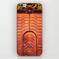Doors Of Prague, No. 4 iPhone & iPod Skin