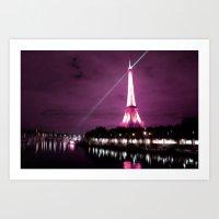 Paris In Oil Art Print