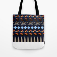 Day of the Dead Tribal Repeat Tote Bag