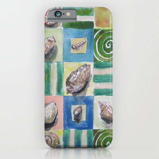 Shell and stripes iPhone & iPod Case