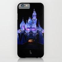 Sleeping Beauty's Winter Castle iPhone 6 Slim Case