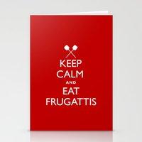 EAT FRUGATTI'S Stationery Cards