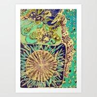 Jardin 3 Art Print
