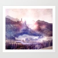 The Wizarding World Art Print