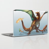 Pokemon-Charizard Laptop & iPad Skin