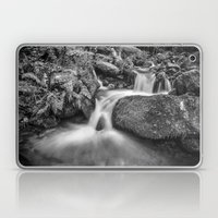 Wild water. Monochrome Laptop & iPad Skin