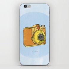 So Analog iPhone & iPod Skin