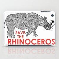Save the Rhino iPad Case