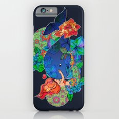 The Mermaid and the Whale iPhone 6 Slim Case