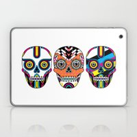 3 Skulls Laptop & iPad Skin