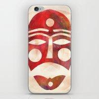 Mask iPhone & iPod Skin