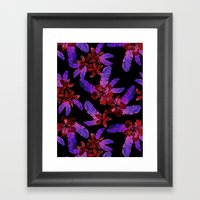 Tahitian Garden {E} Framed Art Print