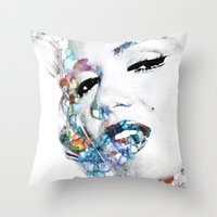 Marilyn Monroe (NOW WITH… Throw Pillow