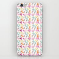 Smaller Colorful Swirls iPhone & iPod Skin